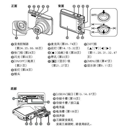 卡西欧 EX-JE10数码相机说明书