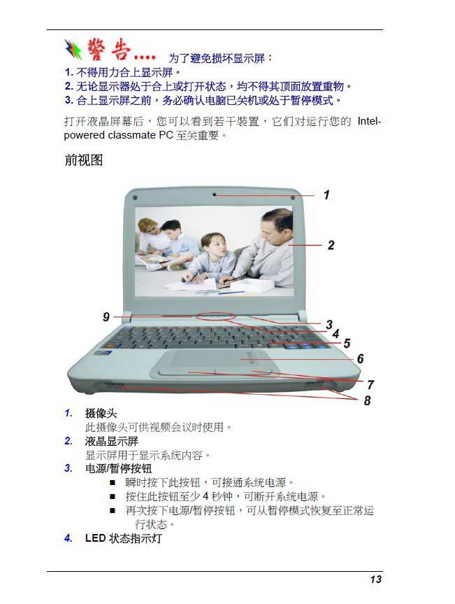 精英ECS E10IL2笔记本电脑说明书