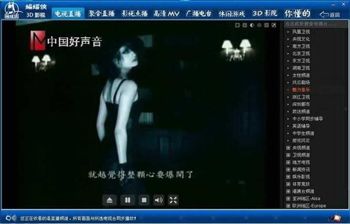 中国好声音播放器