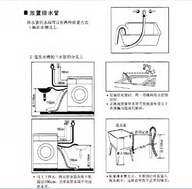 小天鹅tg53-8028(s)型洗衣机使用说明书