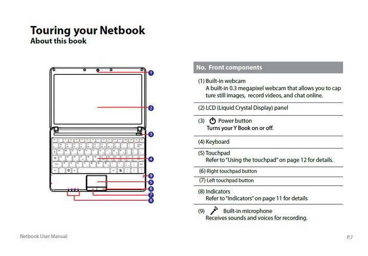 精英ECS Y10PT0笔记本电脑说明书