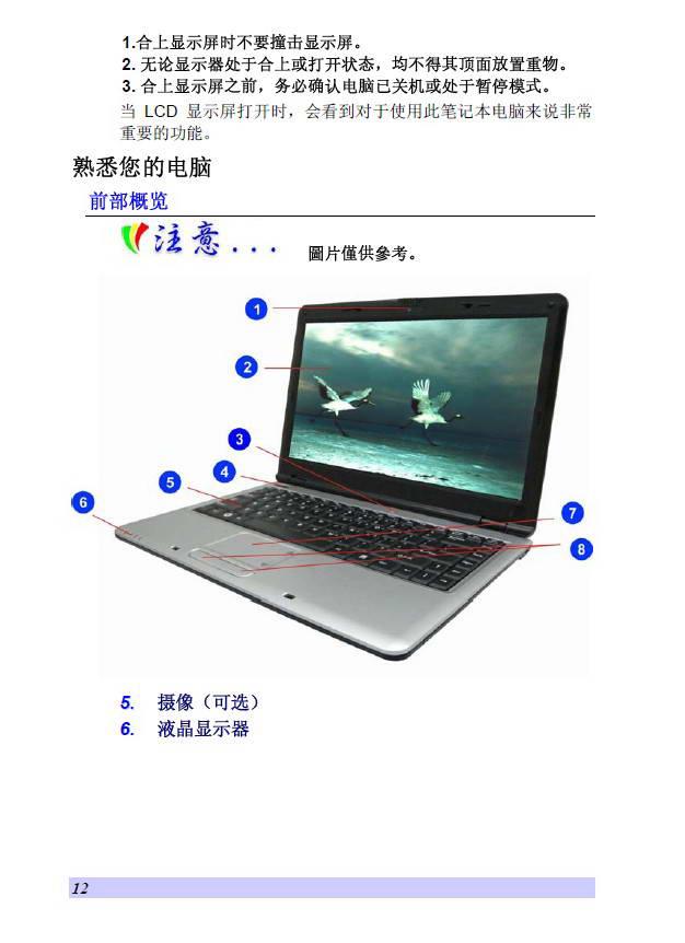 精英ECS V30笔记本电脑使用说明书