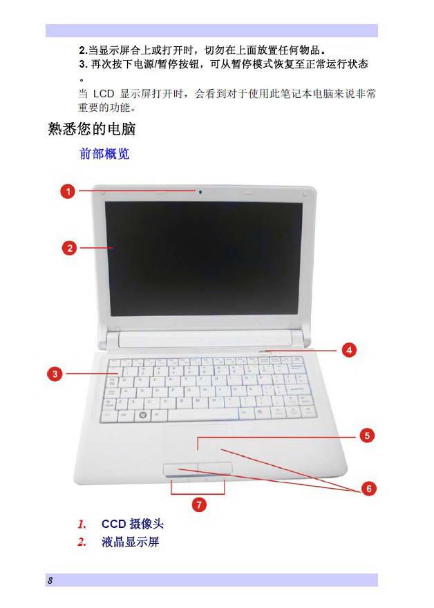 精英ECS J10IL笔记本电脑使用说明书