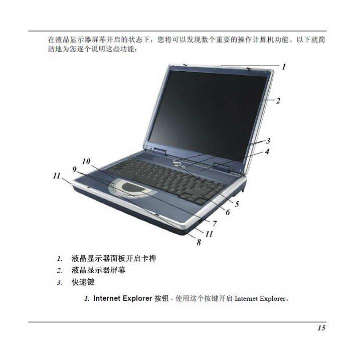精英ECS G733E笔记本电脑说明书