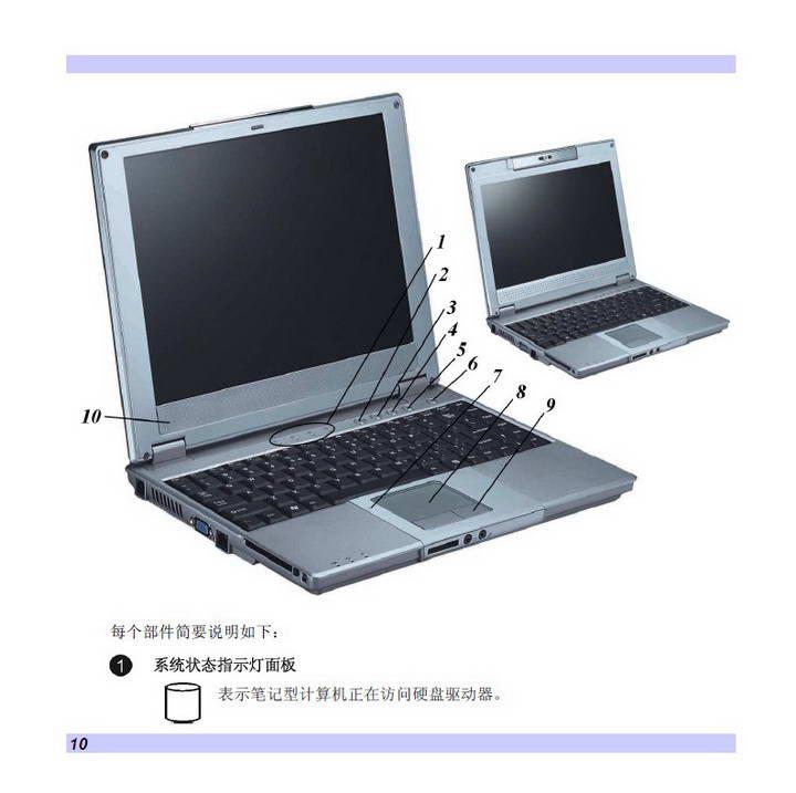 精英ECS G220笔记本电脑说明书