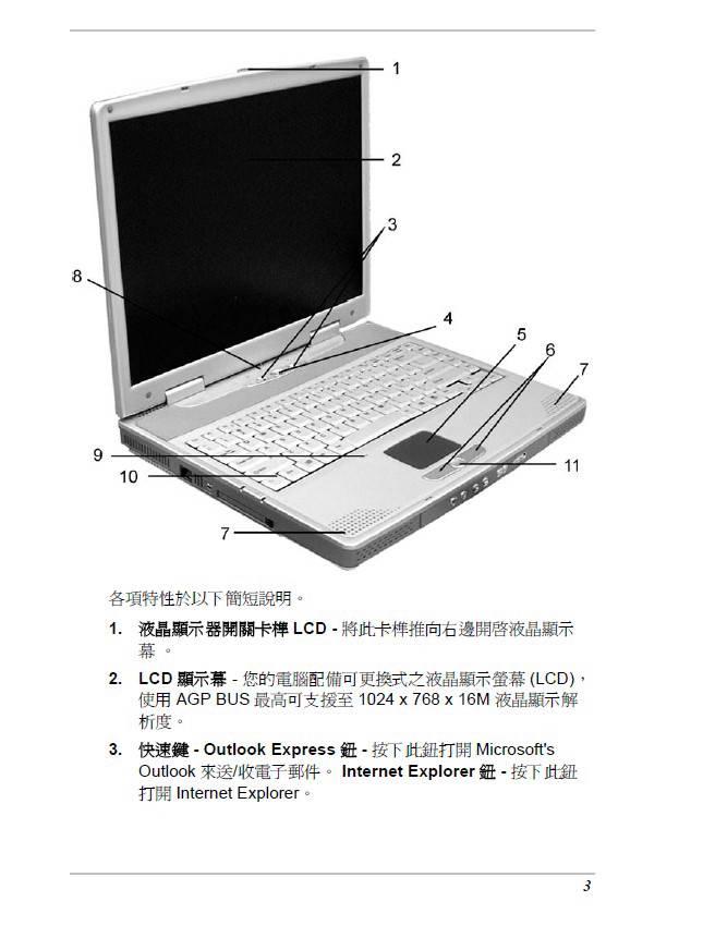 精英ECS G730笔记本电脑说明书