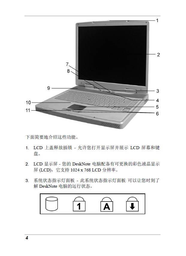 精英ECS A928笔记本电脑说明书