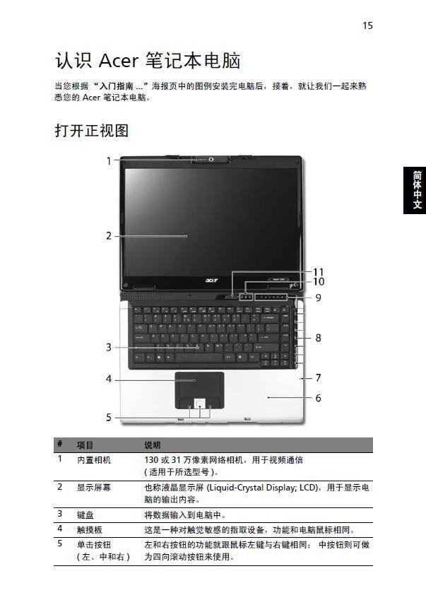 宏基Aspire 3690笔记本电脑说明书