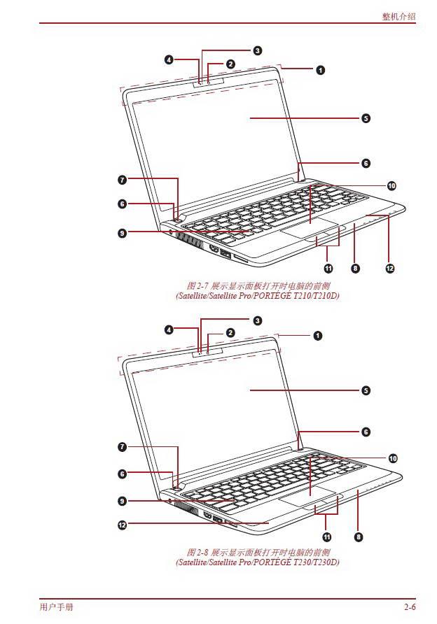 Toshiba东芝Portege T230D笔记本电脑使用说明书