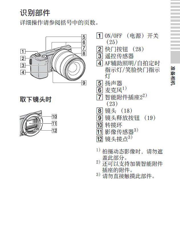 SONY索尼NEX-5N数码相机说明书