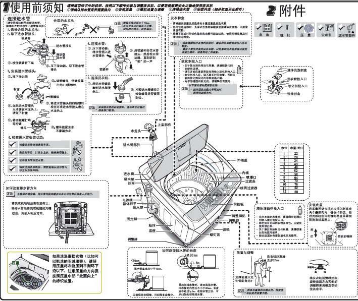 海尔xqb85-tc1288洗衣机使用说明书