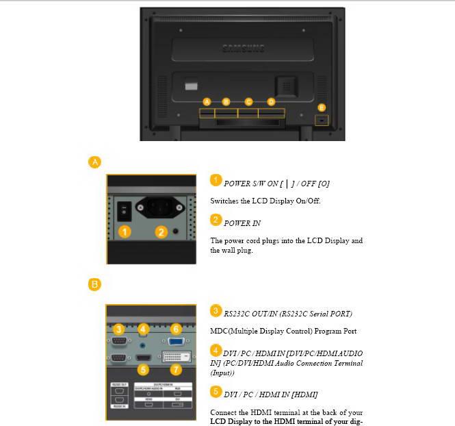 三星400FX液晶显示器使用说明书
