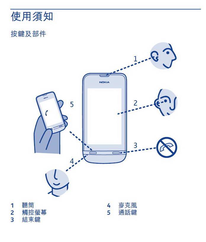 诺基亚Nokia Asha 311手机说明书