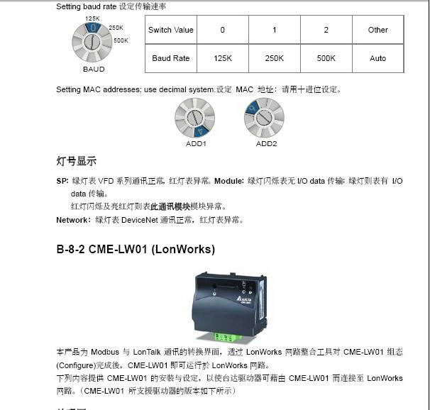 台达vfd022e43a变频器用户手册