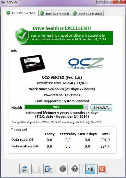 SSDlife Free portable