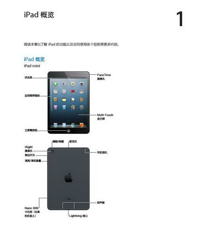0)使用说明书_apple苹果ipad