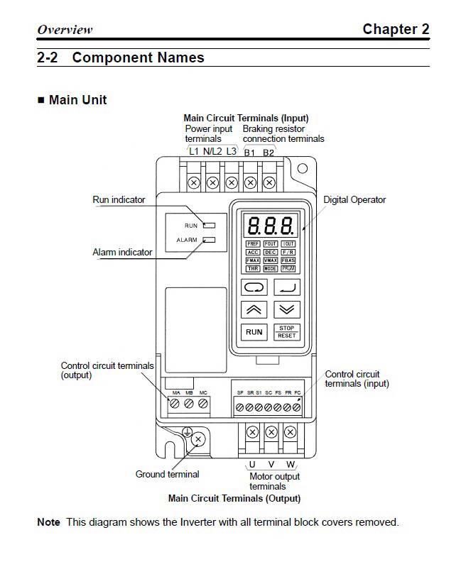 欧姆龙3g3iv-perf150wj201变频器说明书