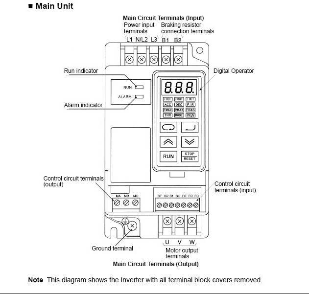 欧姆龙3g3ev-a4004变频器说明书