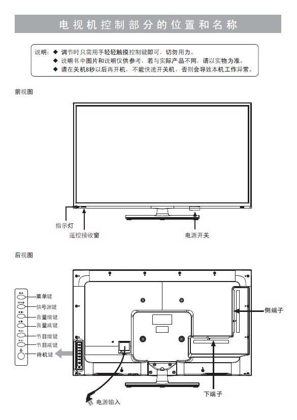 海信led32h150液晶彩电使用说明书
