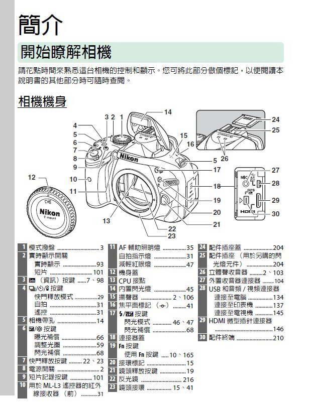 尼康D5200数码相机说明书