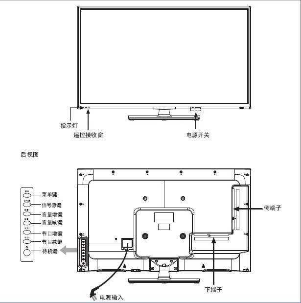 海信LED32K180D液晶彩电使用说明书