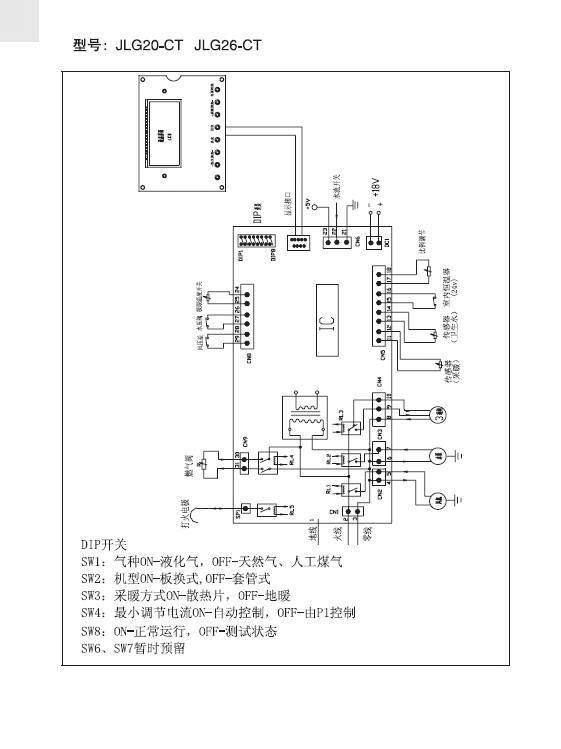 海尔jlg20-ct电暖器使用说明书