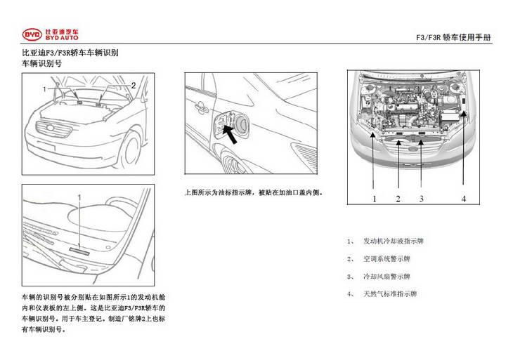比亚迪F3轿车使用手册
