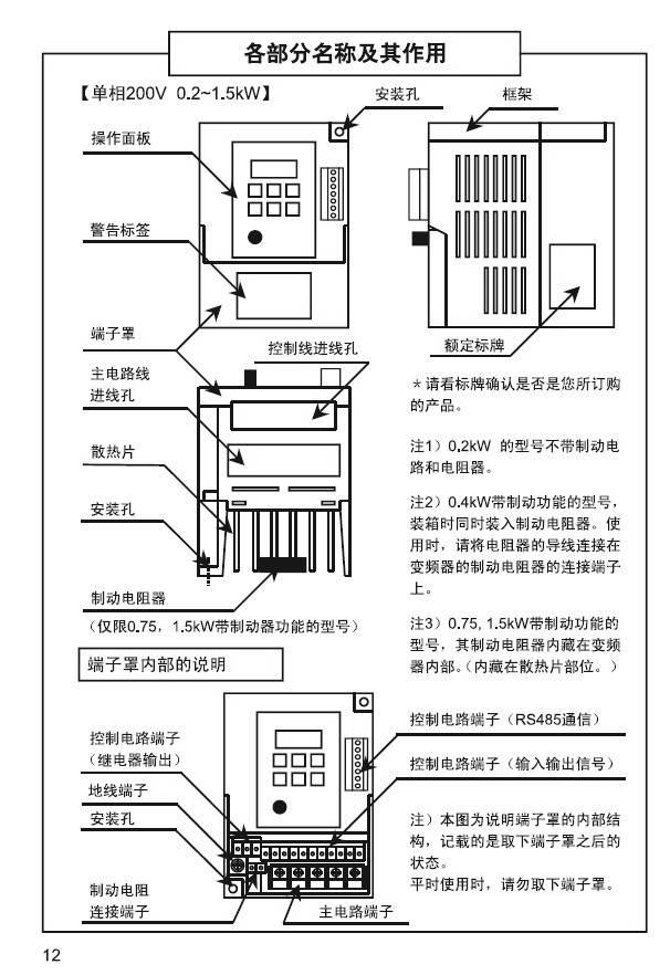 松下bfvoc0154變頻器使用說明書