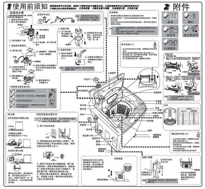 海尔xqs60-z1218洗衣机说明书