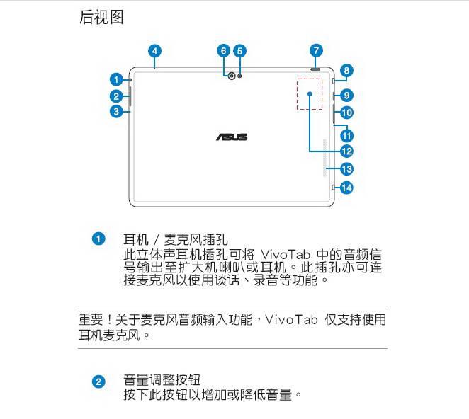 华硕vivotabsmartme400cl笔记本电脑说明书官方下载