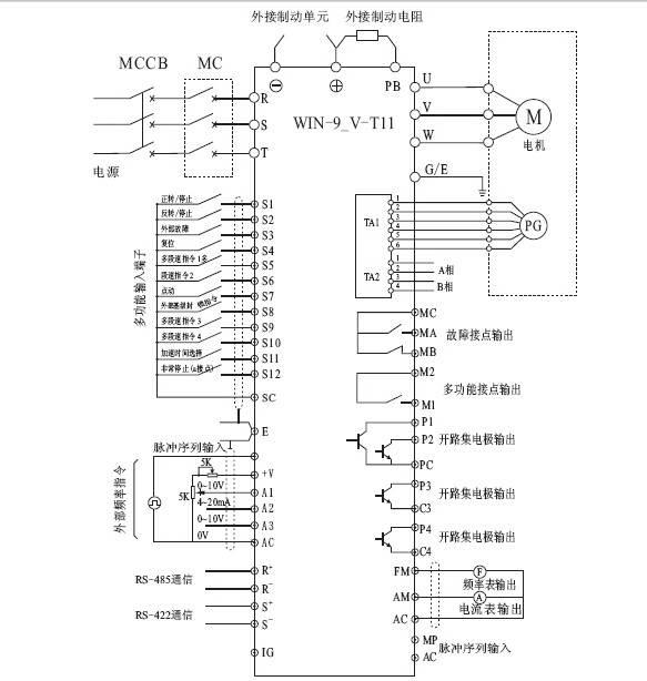 微能win-9v-75-132t11变频器使用说明书