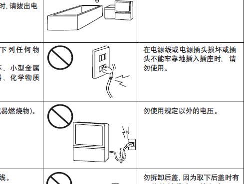 松下tc-51p860d投影式彩电使用说明书
