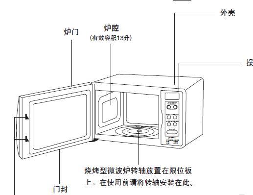 海尔微波炉MI-2270EG使用中文说明书