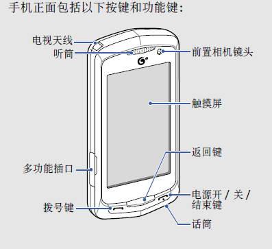 三星GT-I6330C手机使用说明书