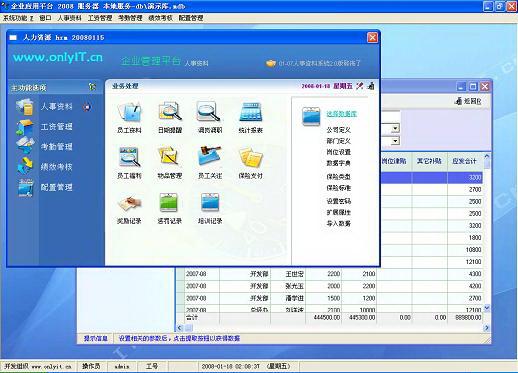 Onlyit.cn人力资源管理软件