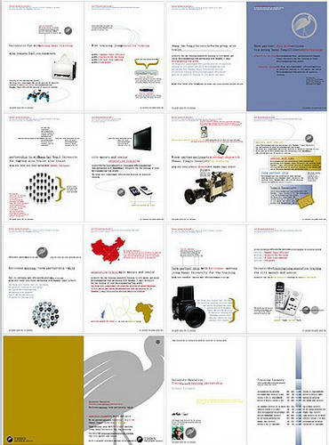 矢量画册设计1
