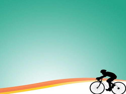 单车运动ppt模板_单车运动ppt模板下载