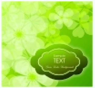 春天树枝绿叶矢量图下载地址