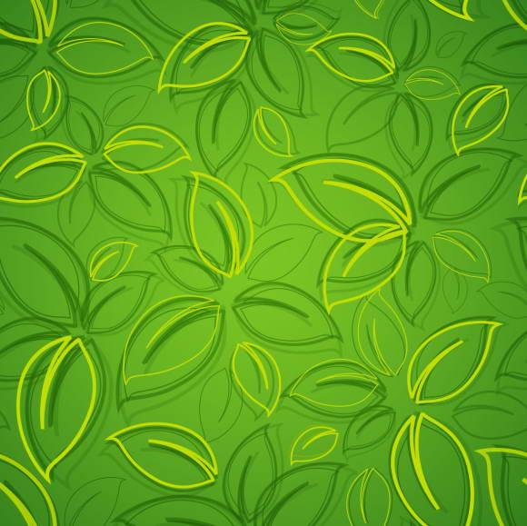 绿色植物底图矢量素材