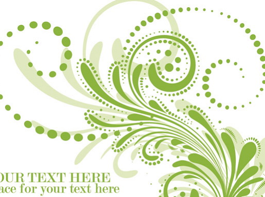 柔软花纹素材矢量图_柔软花纹素材矢量图模板