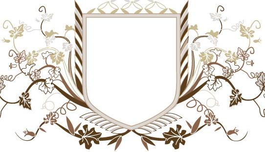 欧式盾牌花纹矢量图官方下载|欧式盾牌花纹矢量图