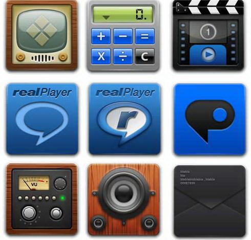 手机png透明图标素材