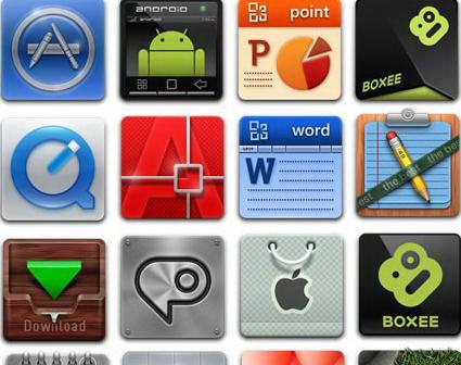 应用软件桌面图标素材下载地址-应用软件桌面图标素材