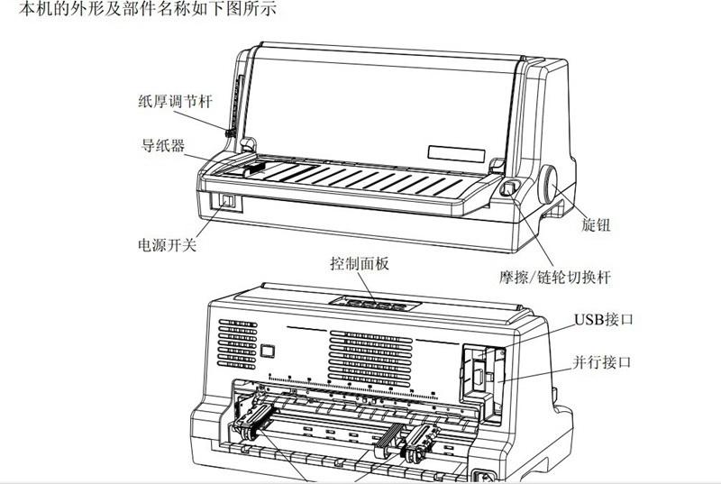 实达BP-750K打印机使用说明书