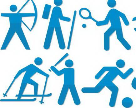 奥运会项目图标素材