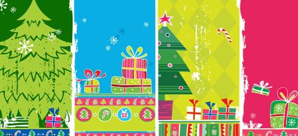 动态圣诞节ppt模板