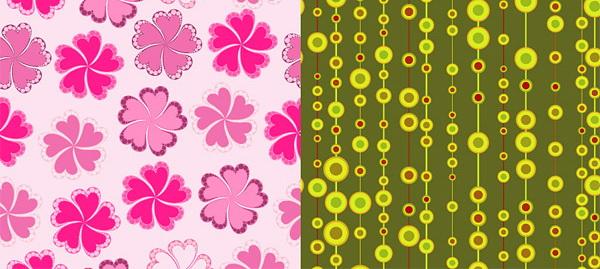可爱时尚背景矢量图_可爱时尚背景矢量图模板
