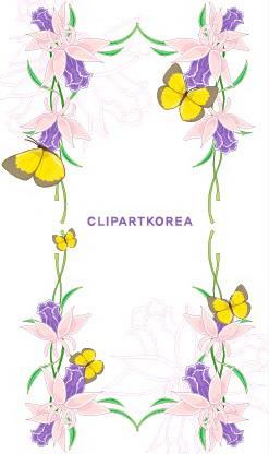 植物花边边框素材14