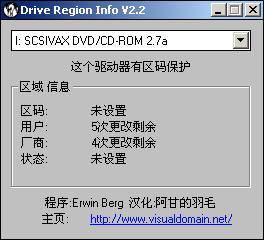 Drive Region Info