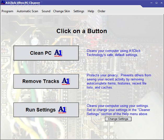 A1Click Ultra PC Cleaner